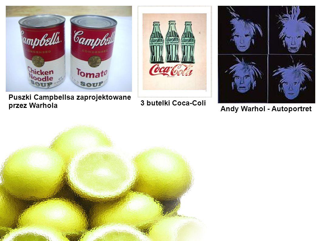 Puszki Campbellsa zaprojektowane przez Warhola