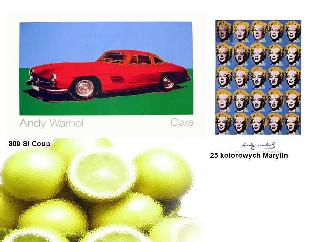 300 Sl Coup 25 kolorowych Marylin