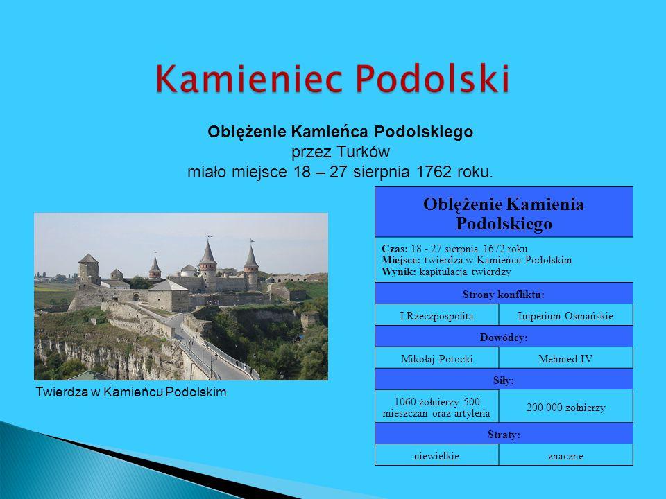 Oblężenie Kamienia Podolskiego