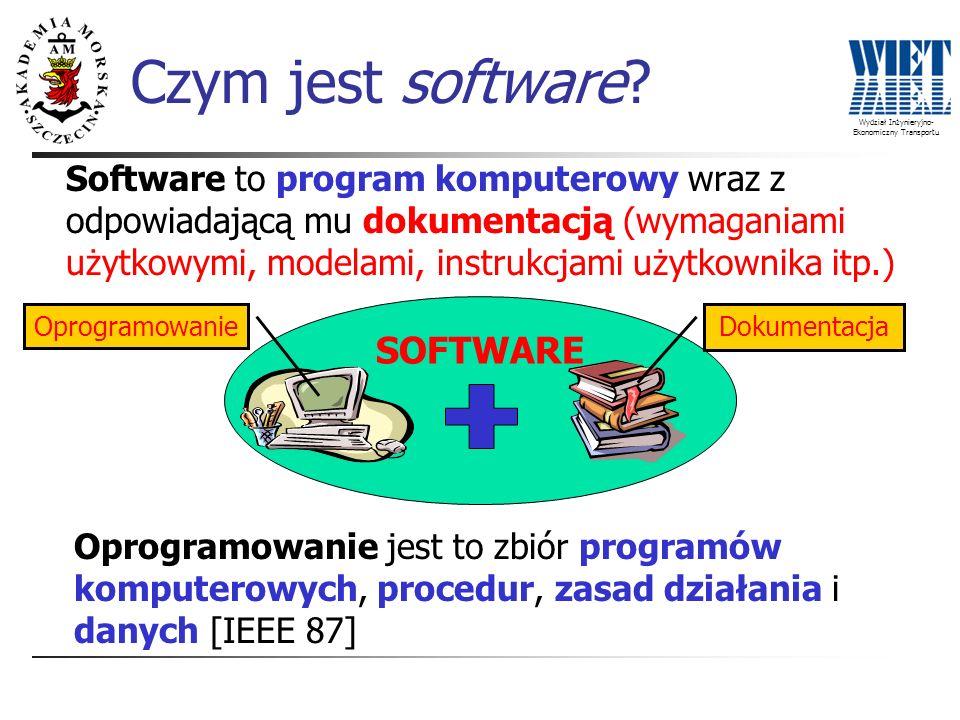 Czym jest software SOFTWARE
