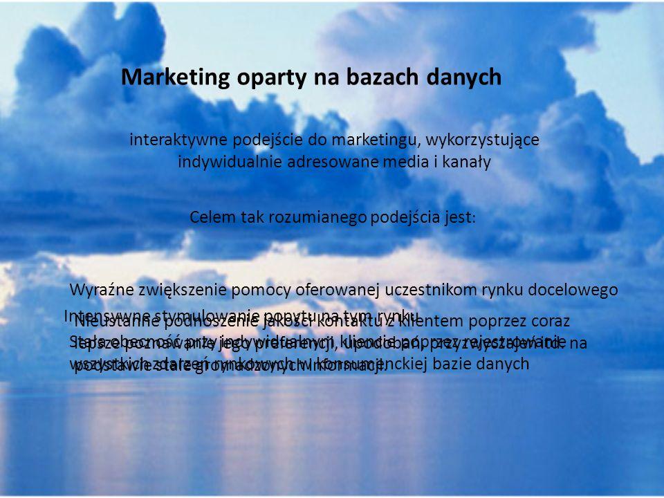 Marketing oparty na bazach danych