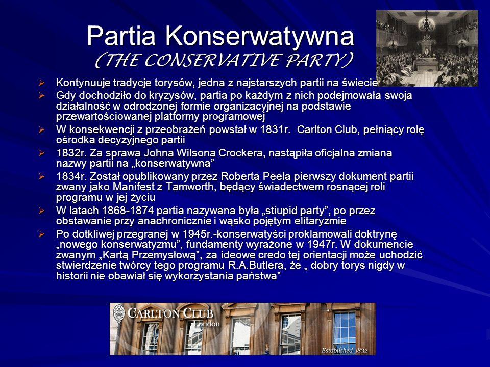 Partia Konserwatywna (THE CONSERVATIVE PARTY)