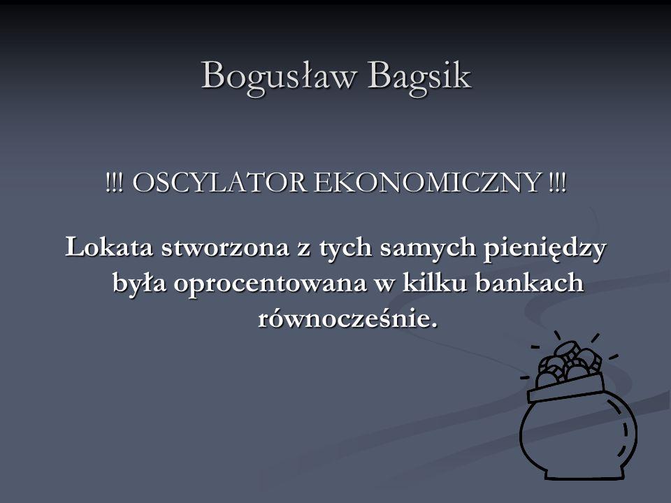 !!! OSCYLATOR EKONOMICZNY !!!