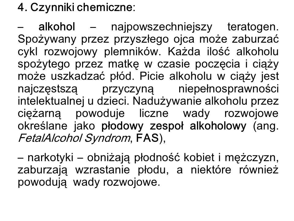 4. Czynniki chemiczne: