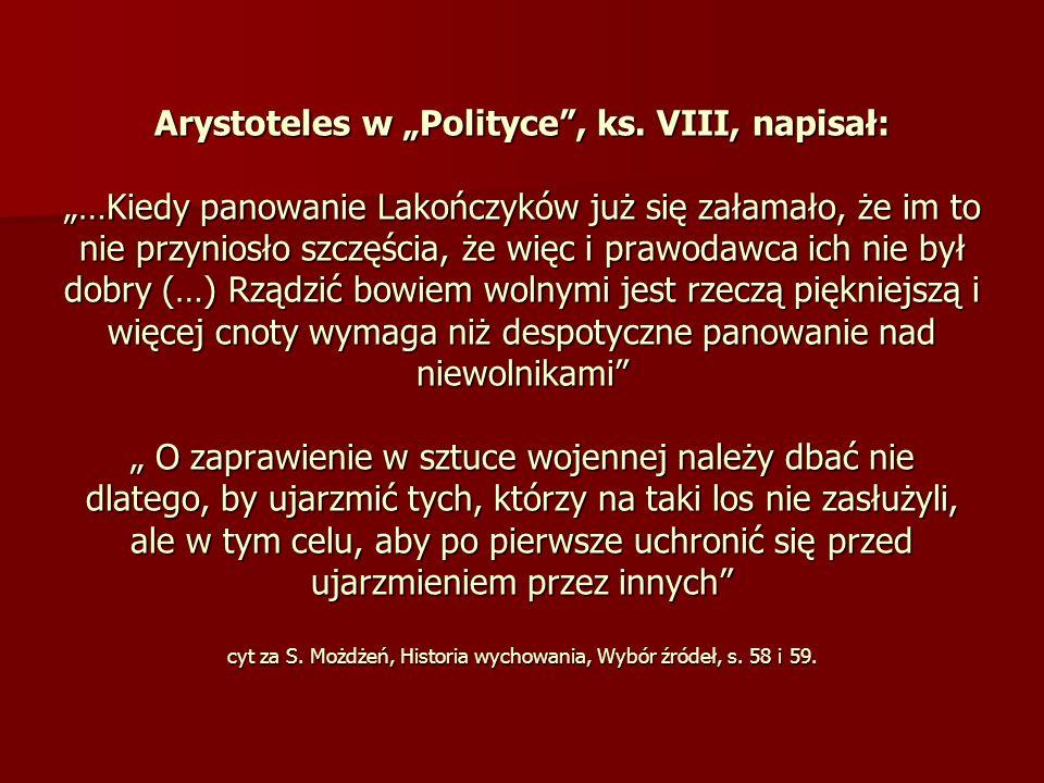 "Arystoteles w ""Polityce , ks"