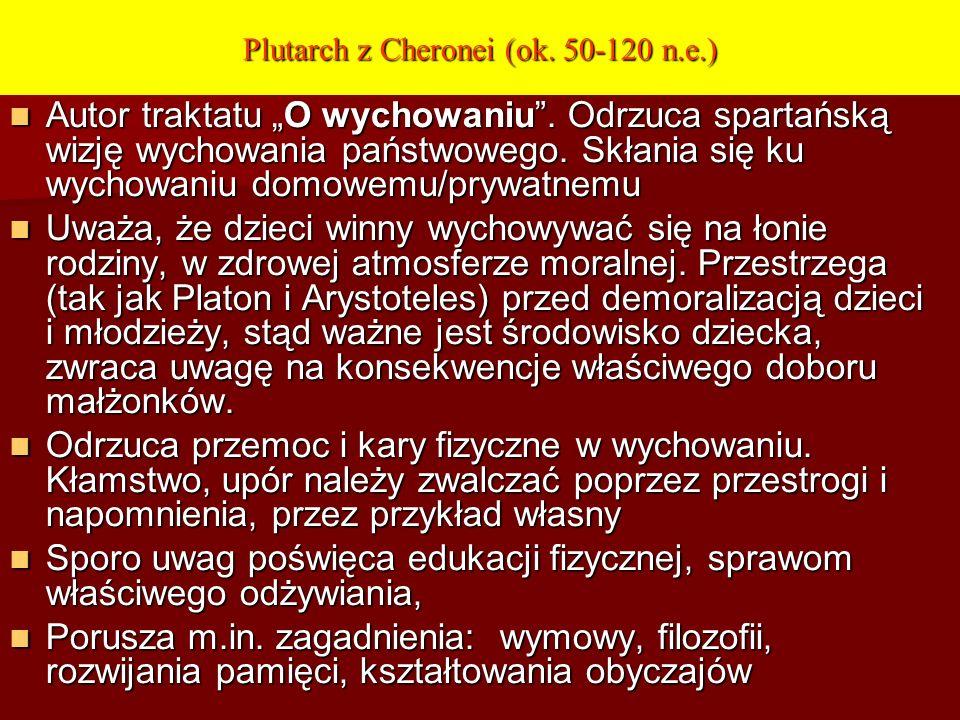 Plutarch z Cheronei (ok. 50-120 n.e.)