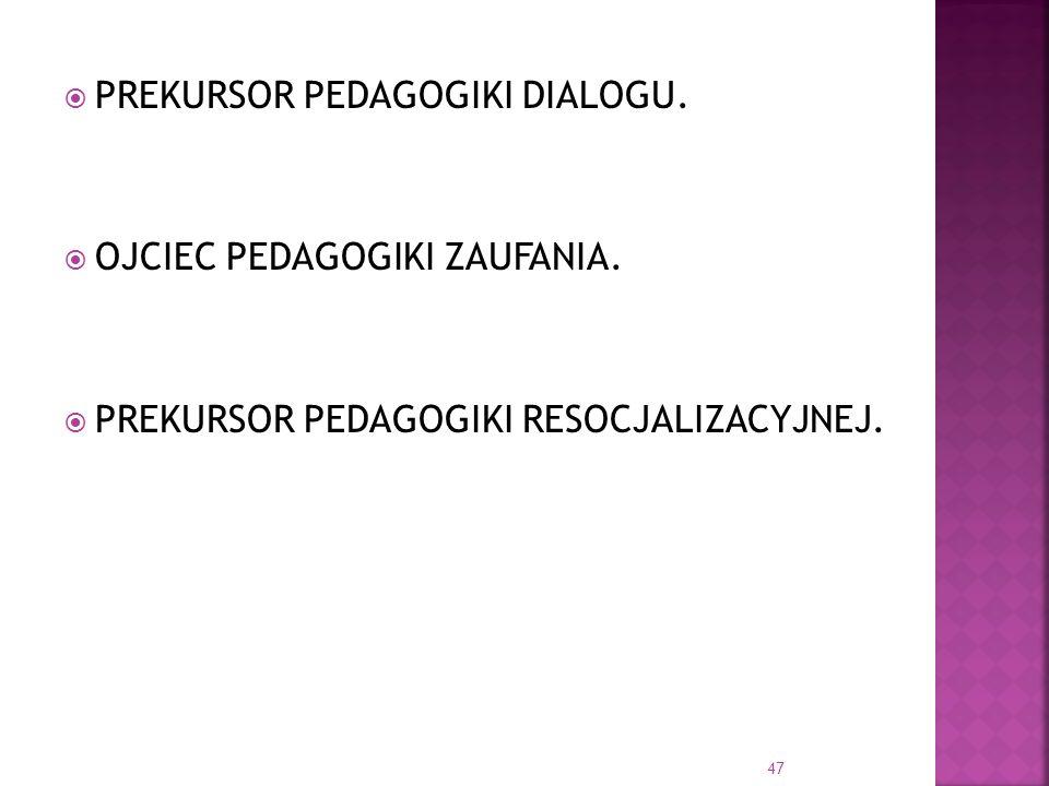 PREKURSOR PEDAGOGIKI DIALOGU.