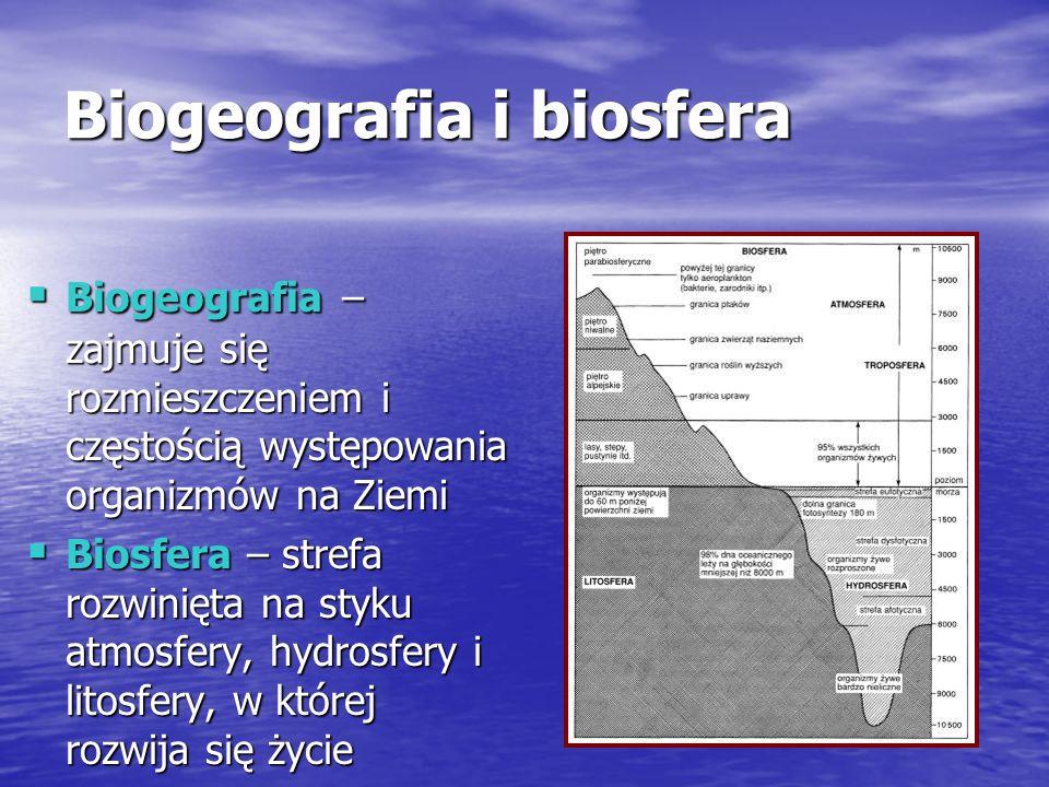 Biogeografia i biosfera