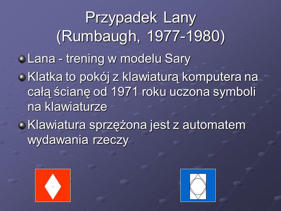 Przypadek Lany (Rumbaugh, 1977-1980)