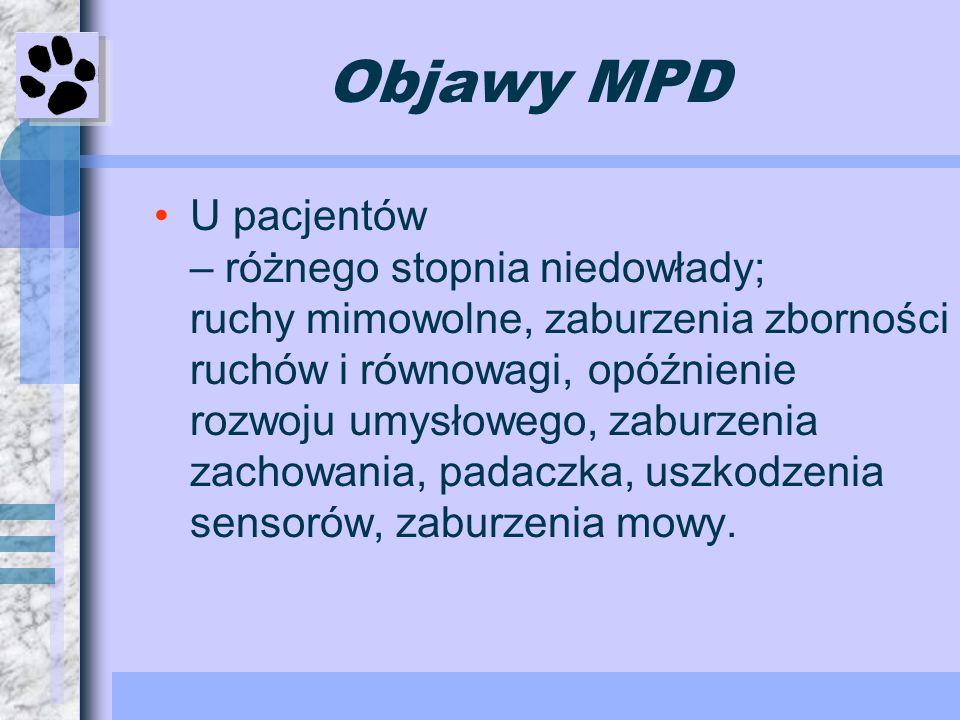 Objawy MPD