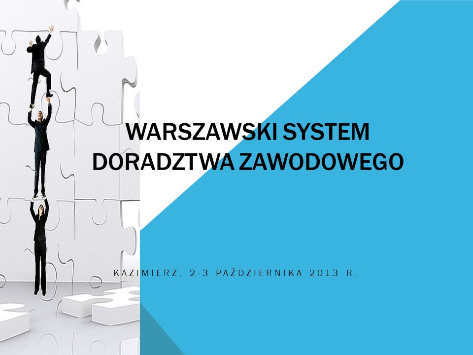 Warszawski system doradztwa zawodowego