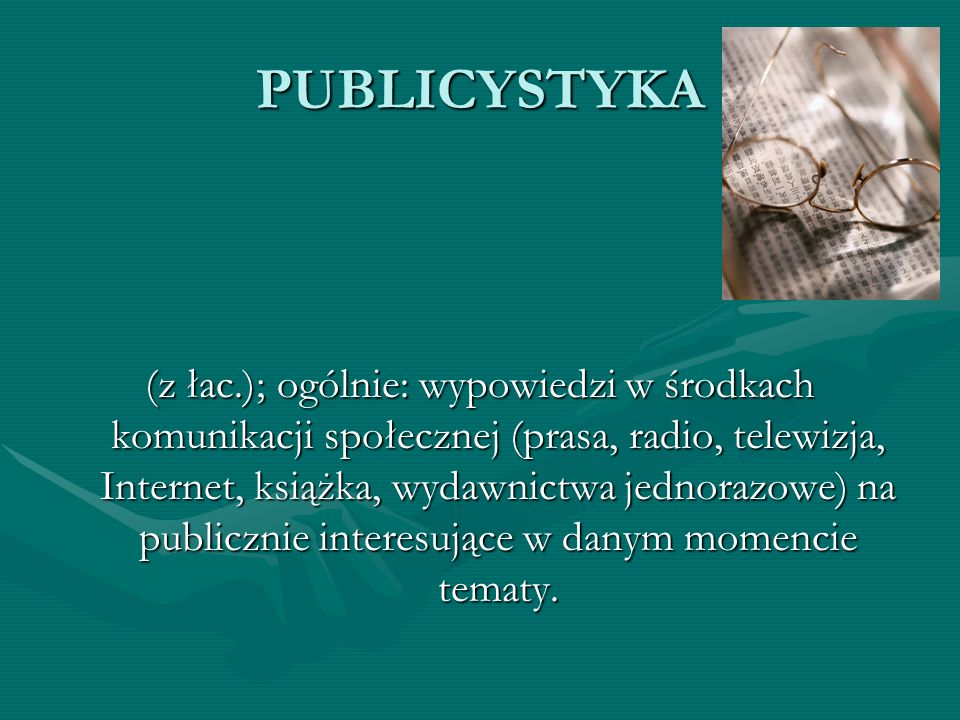 PUBLICYSTYKA