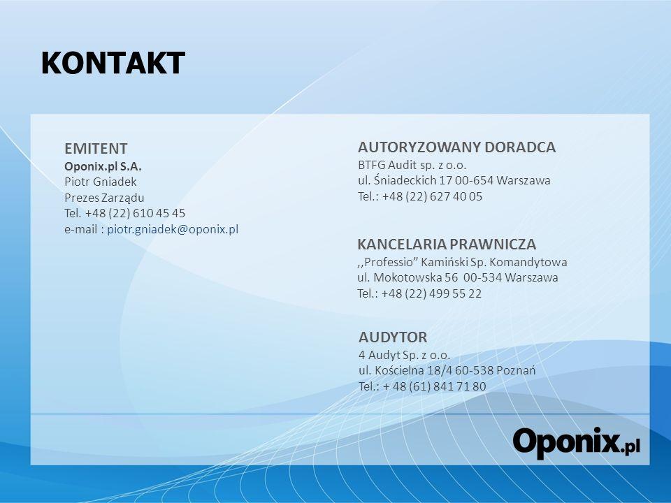 KONTAKT EMITENT AUTORYZOWANY DORADCA KANCELARIA PRAWNICZA AUDYTOR