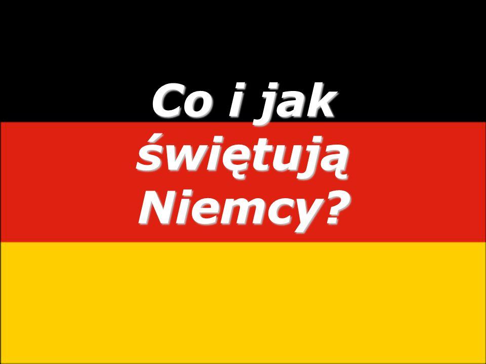 Co i jak świętują Niemcy