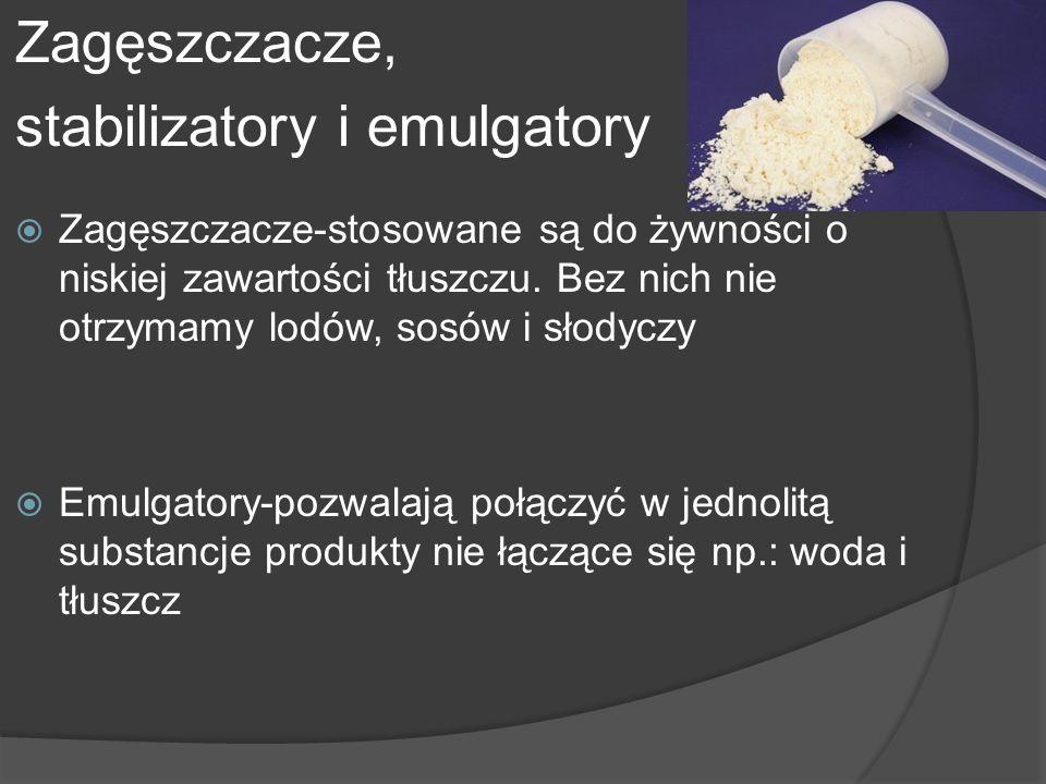 stabilizatory i emulgatory