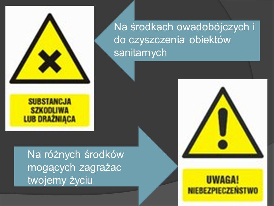 Na środkach owadobójczych i do czyszczenia obiektów sanitarnych