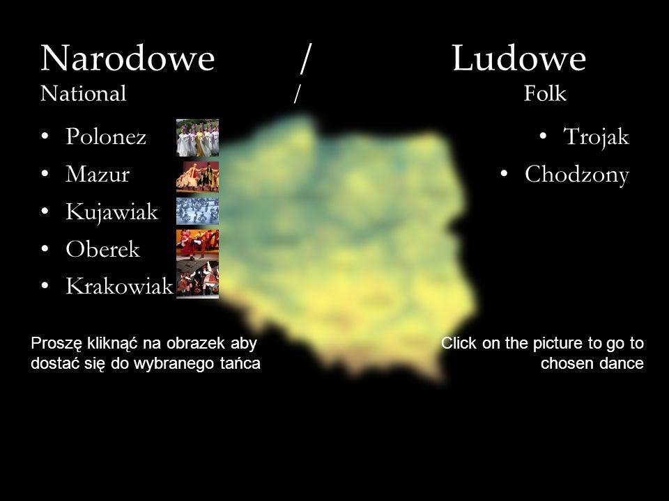 Narodowe / Ludowe National / Folk
