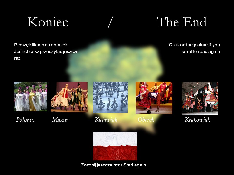 Koniec / The End Polonez Mazur Kujawiak Oberek Krakowiak