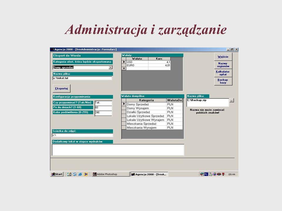 Administracja i zarządzanie