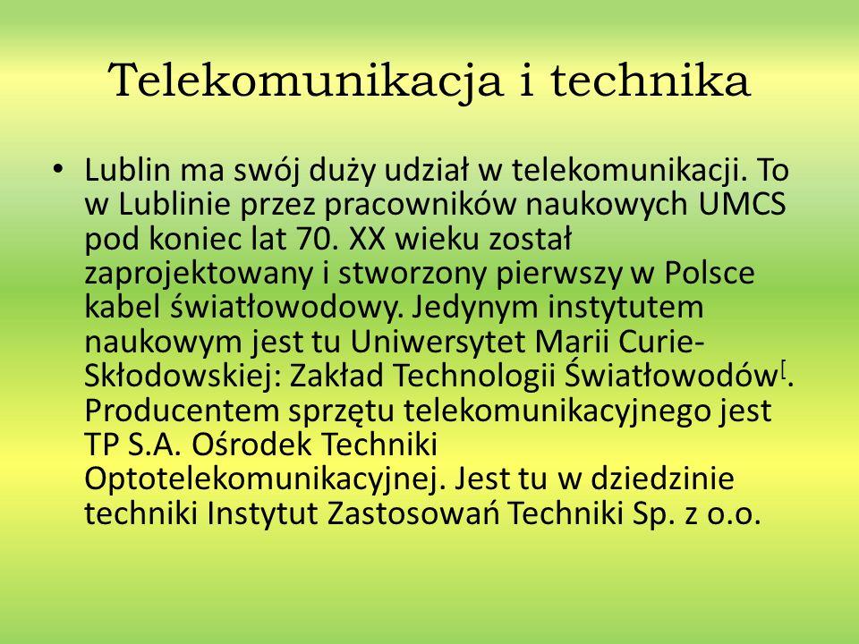 Telekomunikacja i technika