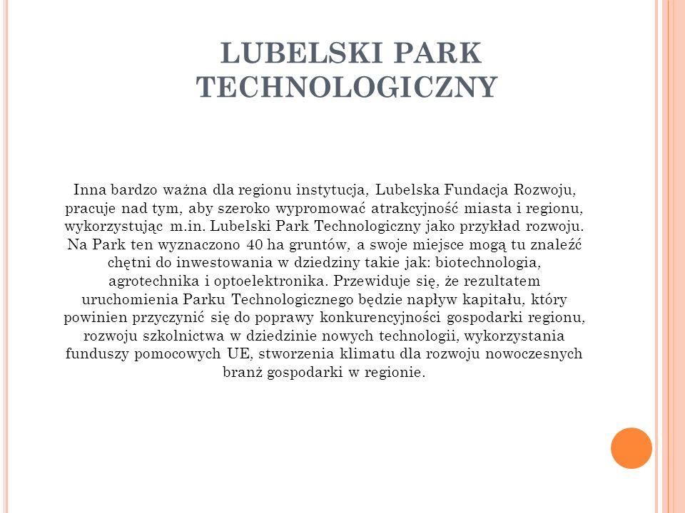 LUBELSKI PARK TECHNOLOGICZNY