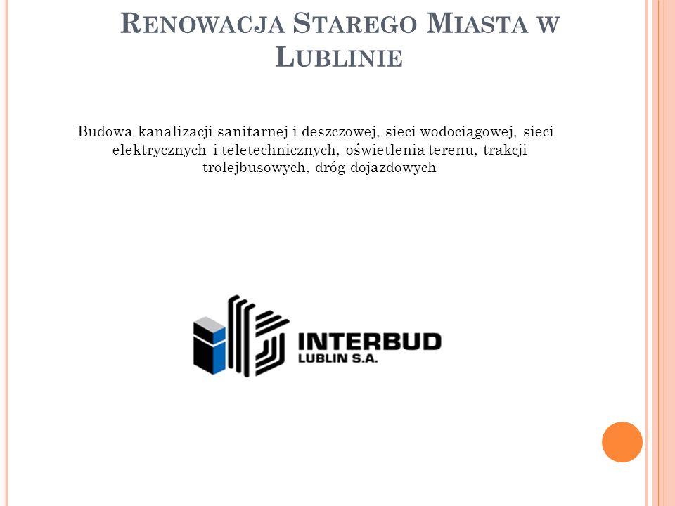 Renowacja Starego Miasta w Lublinie