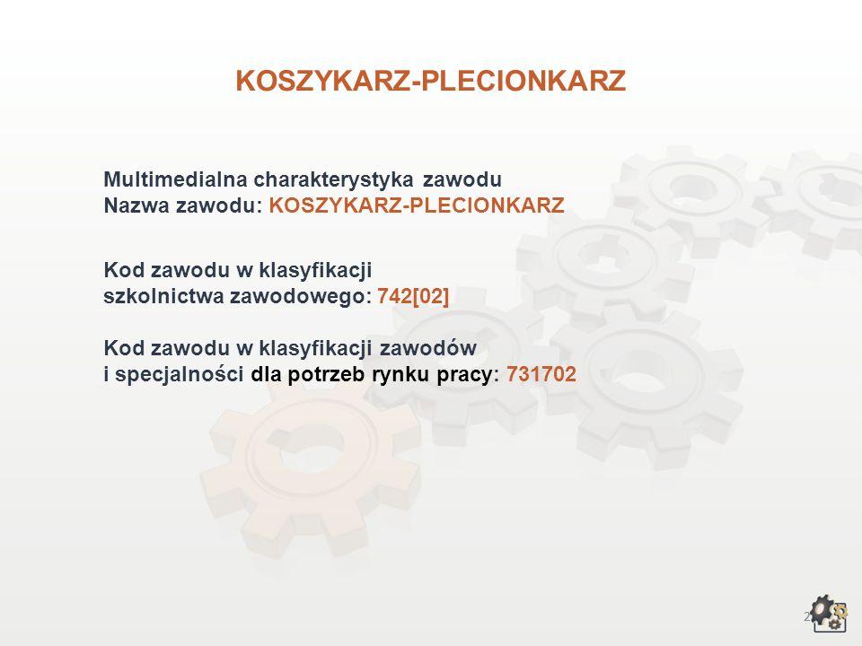 KOSZYKARZ-PLECIONKARZ