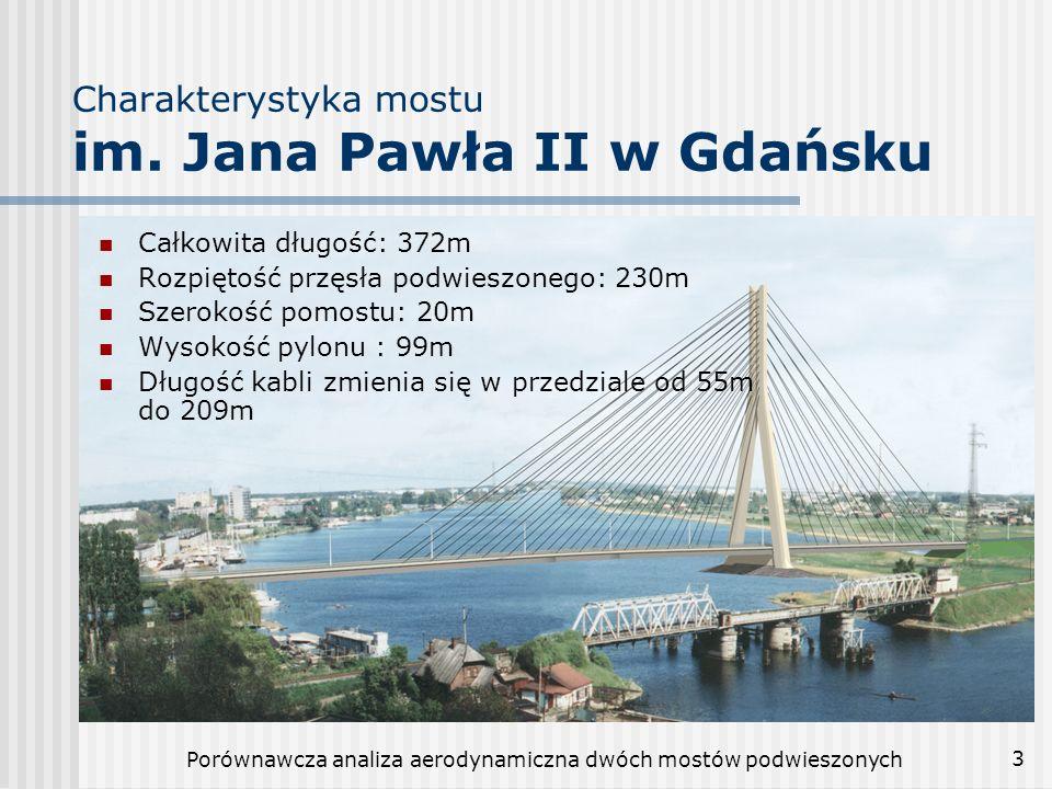 Charakterystyka mostu im. Jana Pawła II w Gdańsku