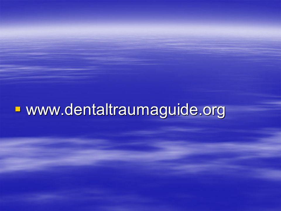 www.dentaltraumaguide.org