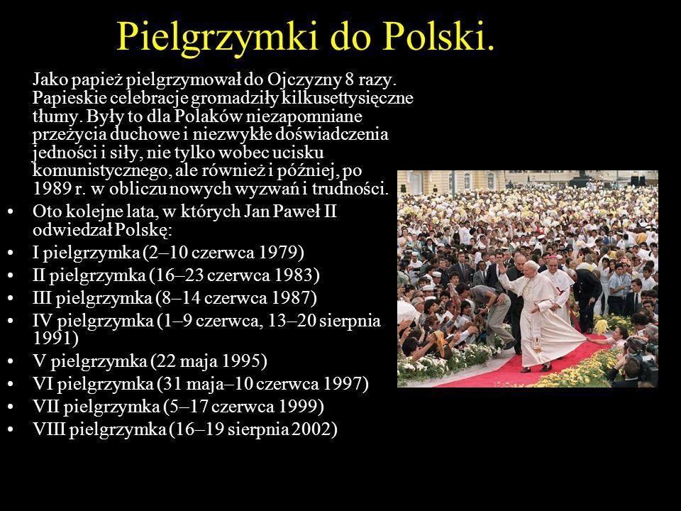 Pielgrzymki do Polski.