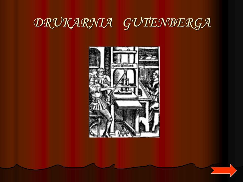DRUKARNIA GUTENBERGA