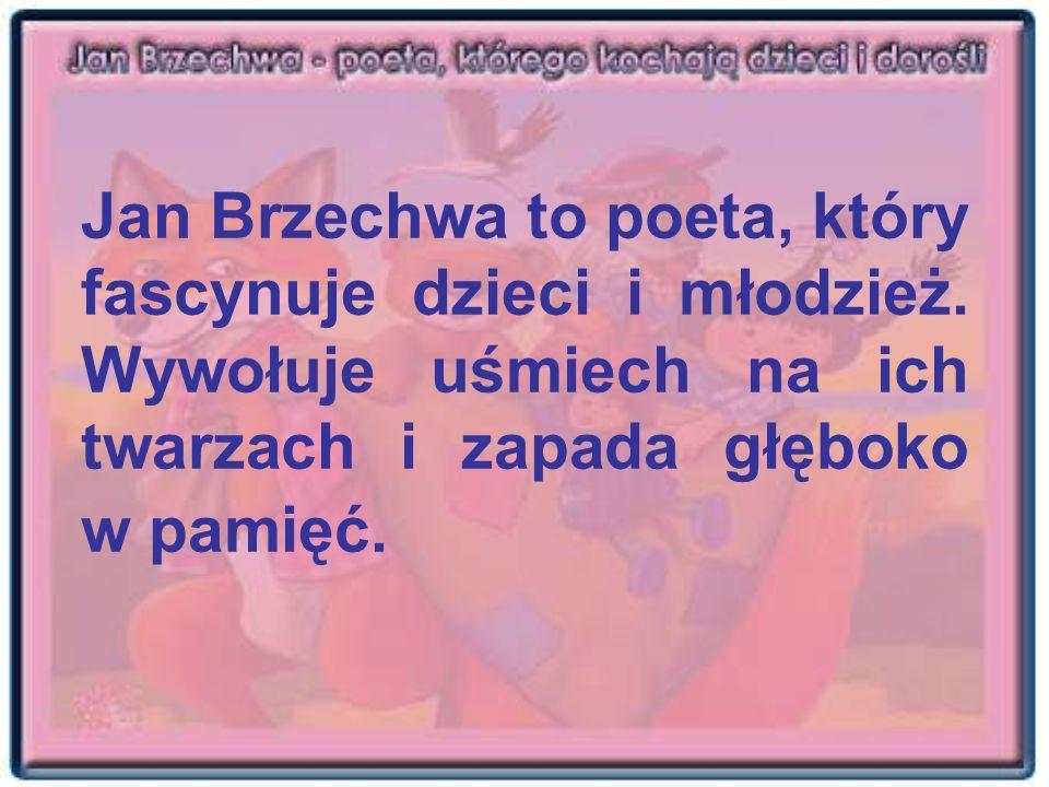 Jan Brzechwa to poeta, który fascynuje dzieci i młodzież