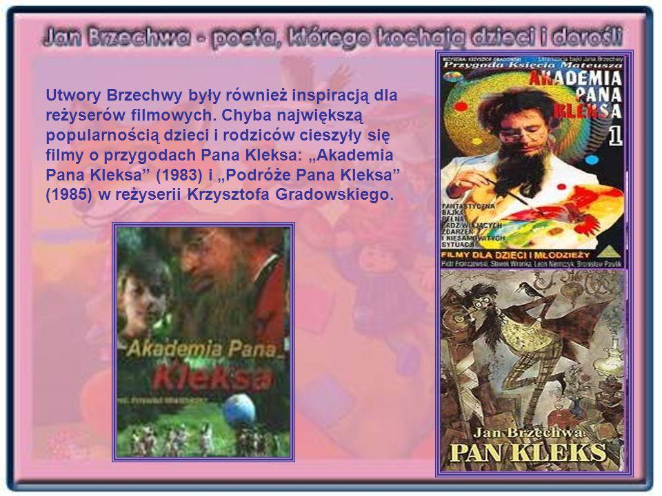 Utwory Brzechwy były również inspiracją dla reżyserów filmowych