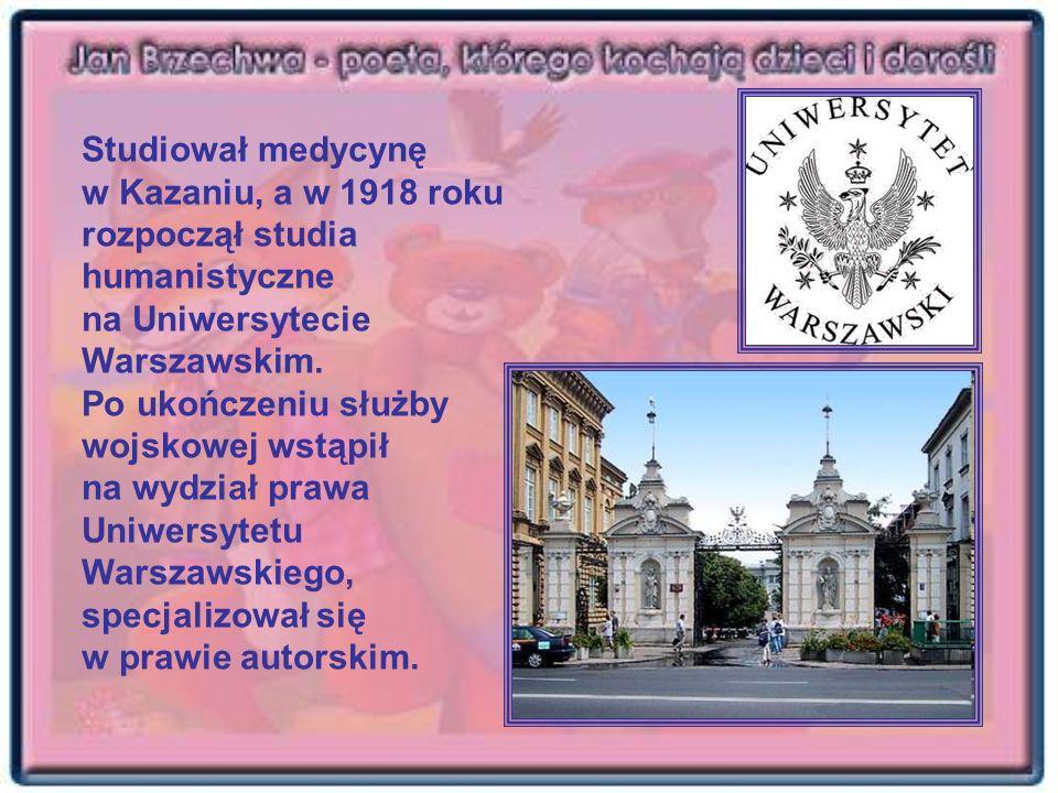 Studiował medycynę w Kazaniu, a w 1918 roku rozpoczął studia humanistyczne na Uniwersytecie Warszawskim.