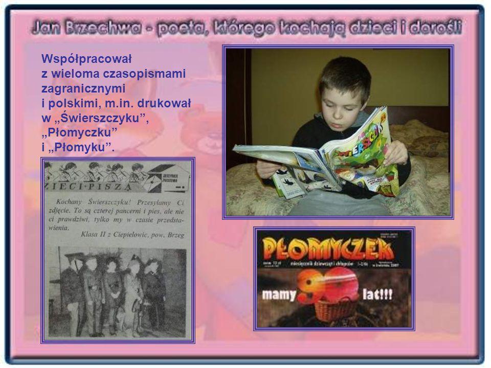 Współpracował z wieloma czasopismami zagranicznymi i polskimi, m. in