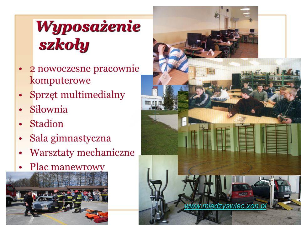 Wyposażenie szkoły 2 nowoczesne pracownie komputerowe
