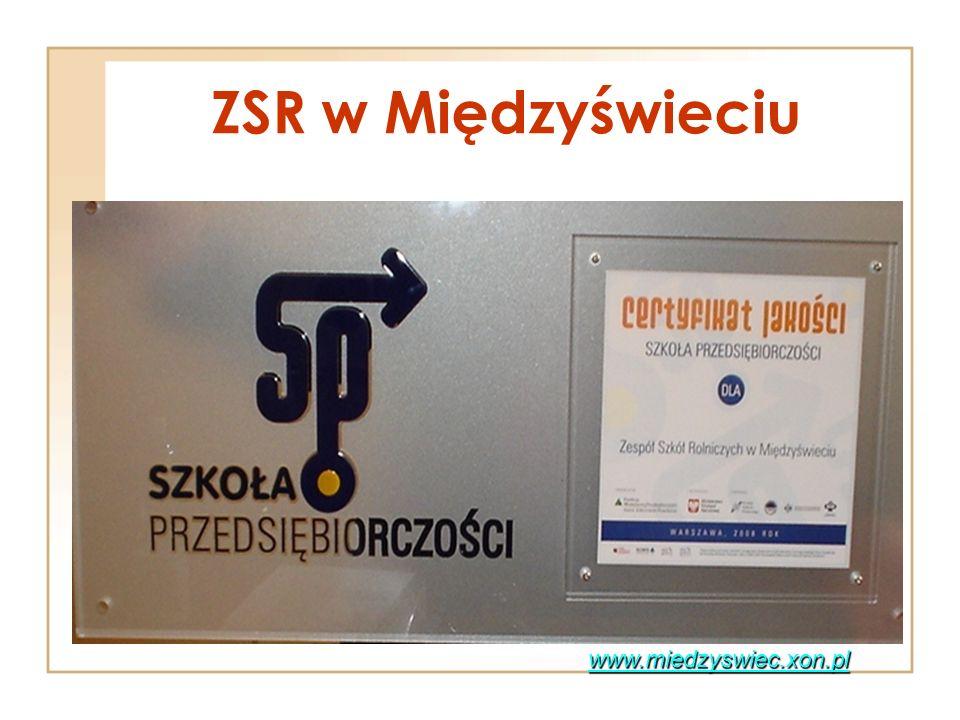 ZSR w Międzyświeciu www.miedzyswiec.xon.pl