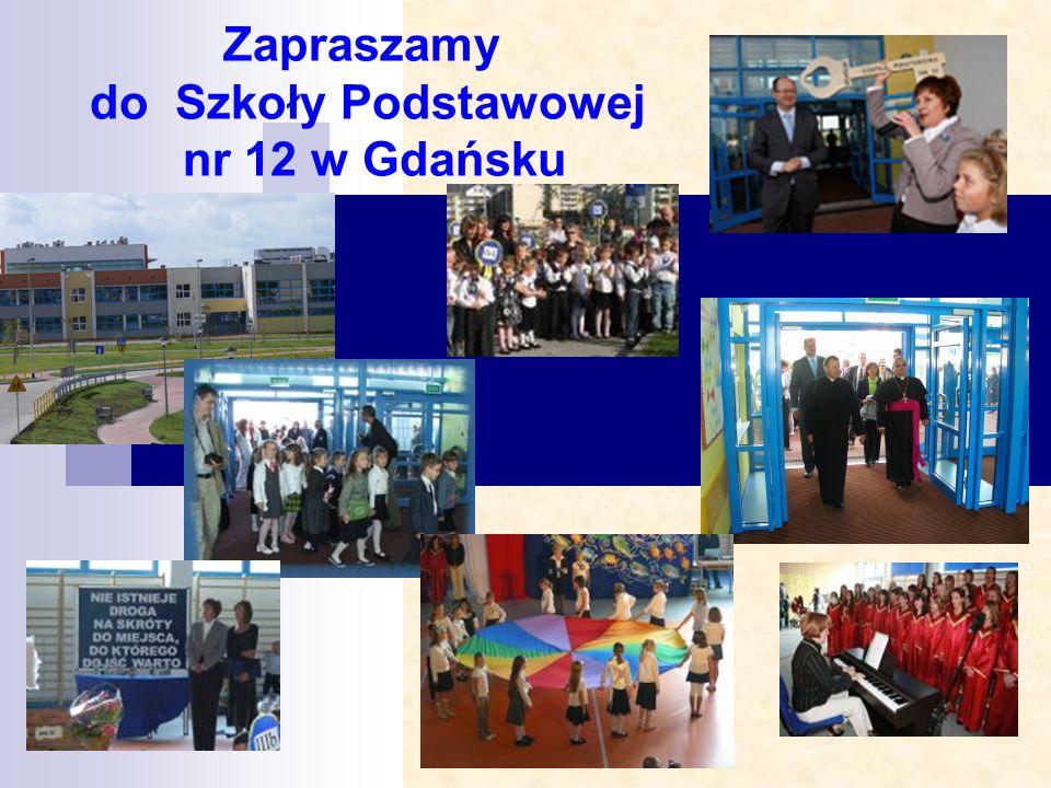 Zapraszamy do Szkoły Podstawowej nr 12 w Gdańsku