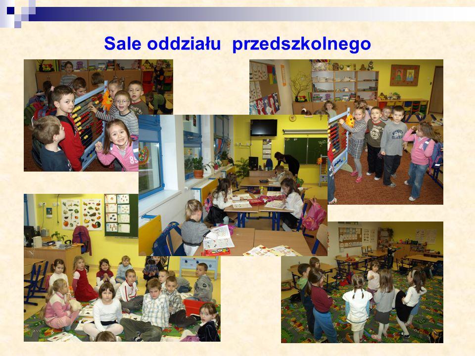 Sale oddziału przedszkolnego