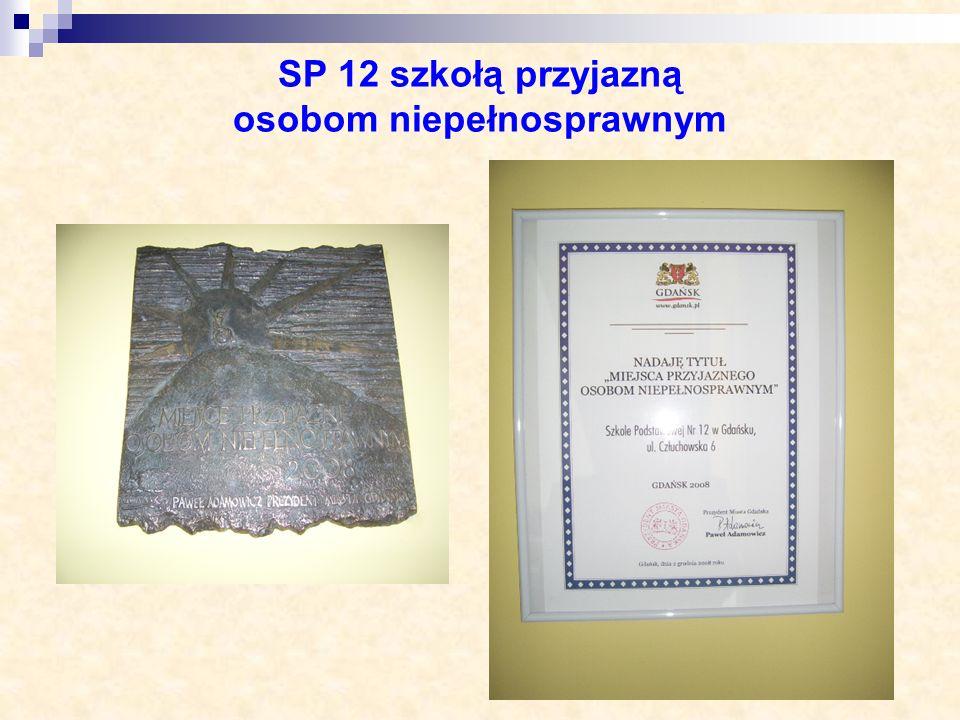SP 12 szkołą przyjazną osobom niepełnosprawnym