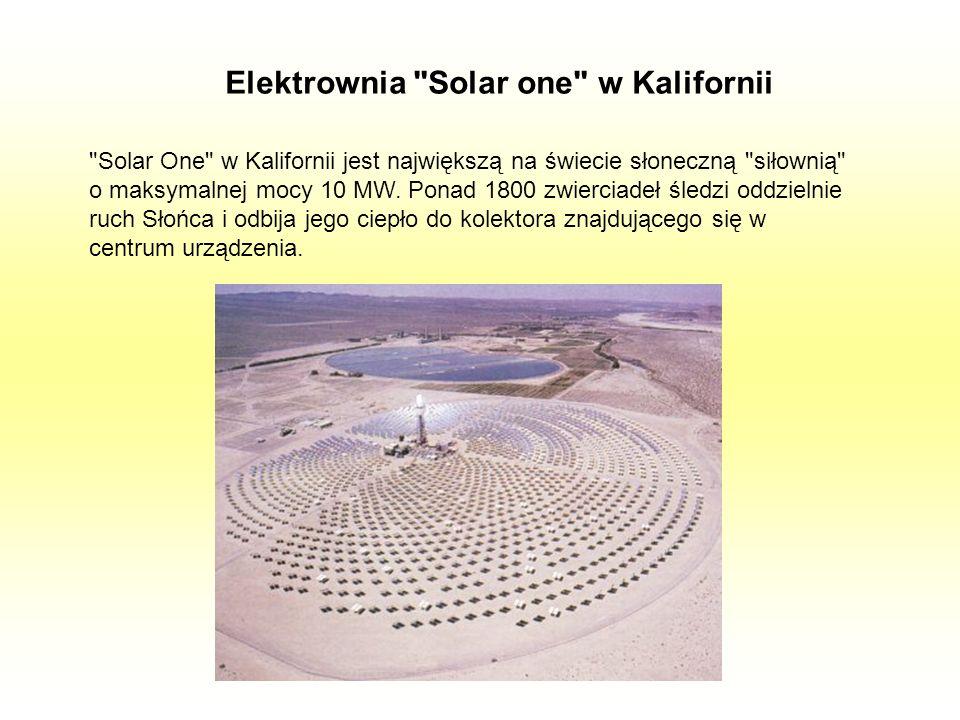 Elektrownia Solar one w Kalifornii