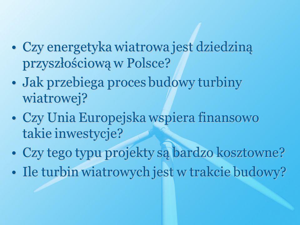 Czy energetyka wiatrowa jest dziedziną przyszłościową w Polsce