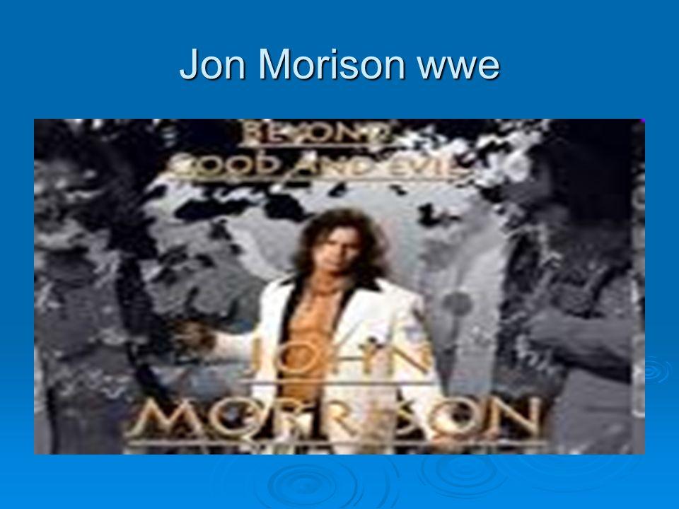 Jon Morison wwe