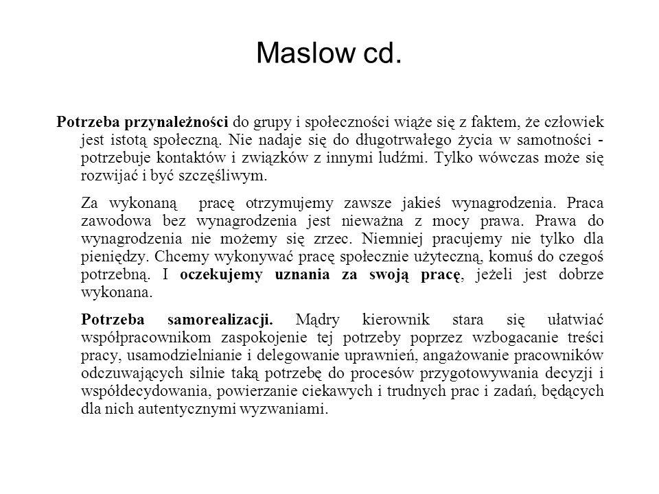 Maslow cd.