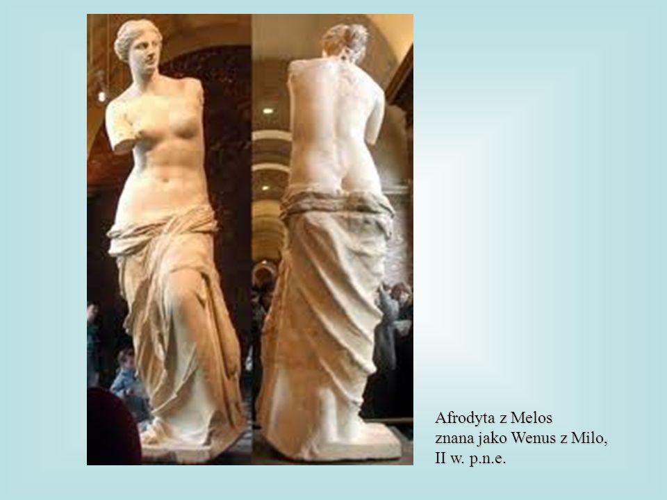 Afrodyta z Melos znana jako Wenus z Milo, II w. p.n.e.