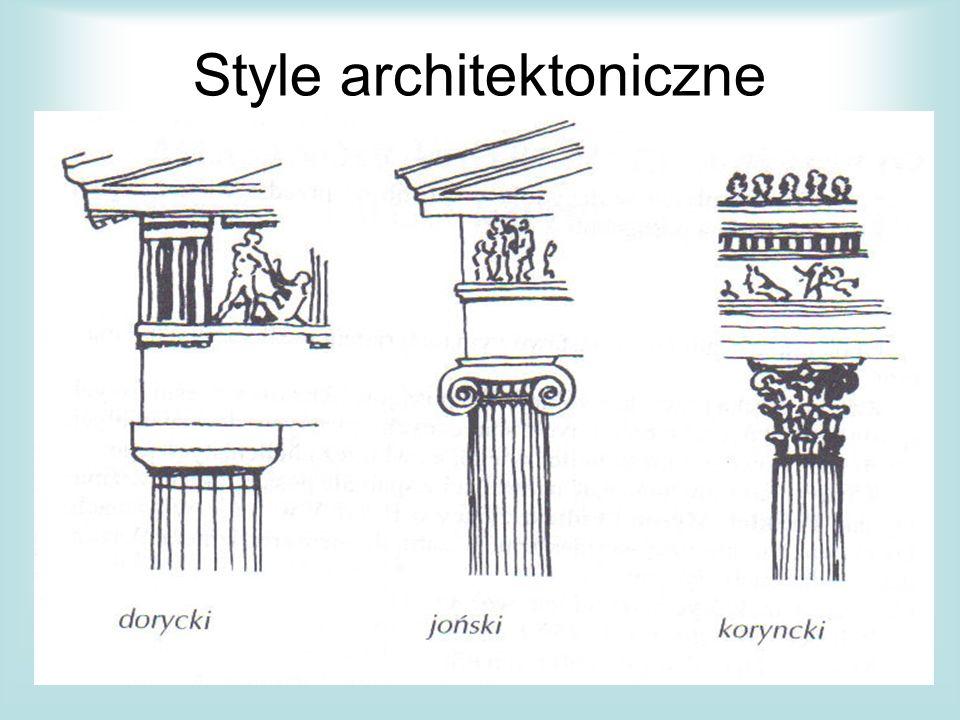 Style architektoniczne