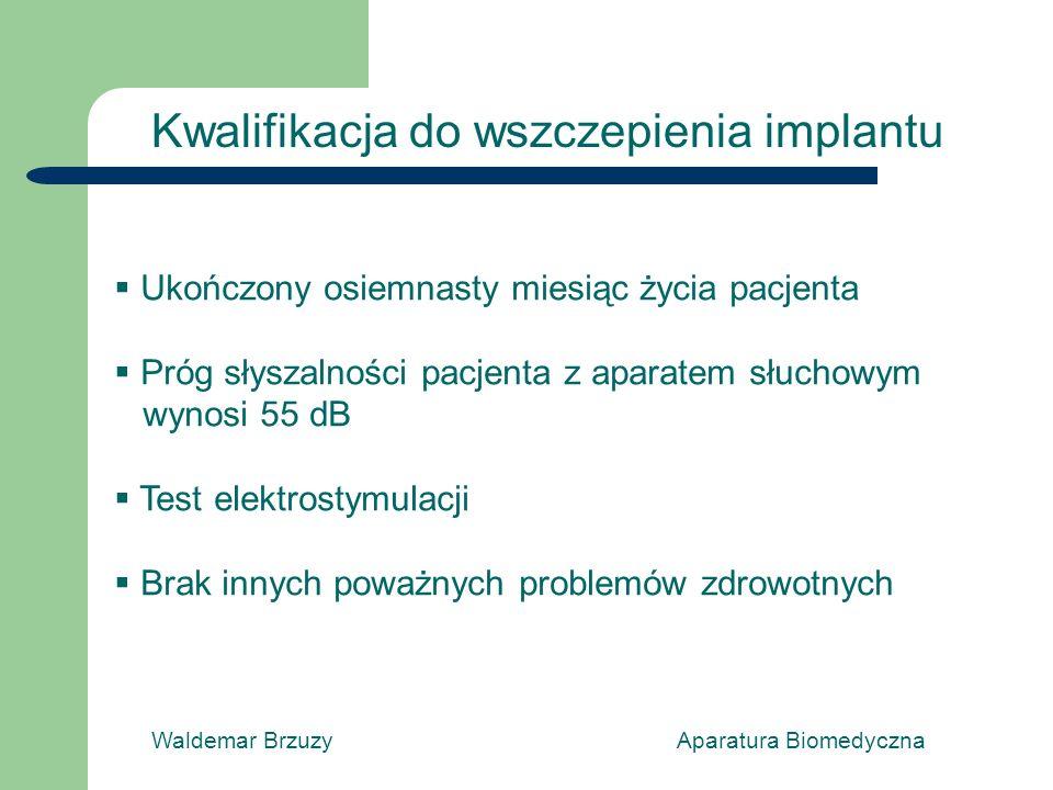 Kwalifikacja do wszczepienia implantu