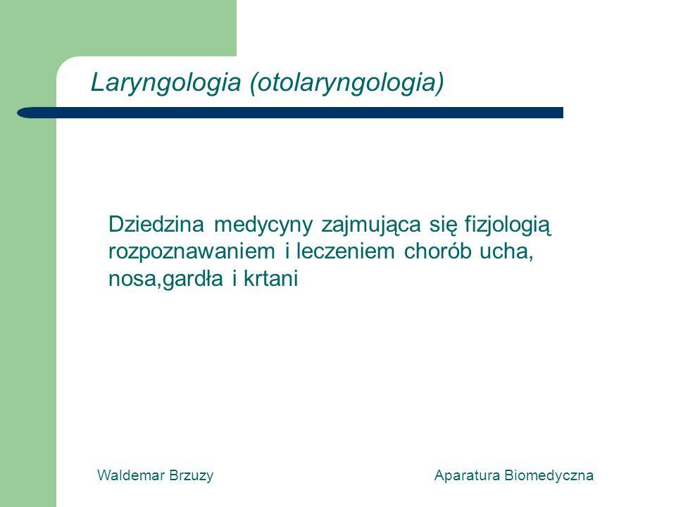 Laryngologia (otolaryngologia)