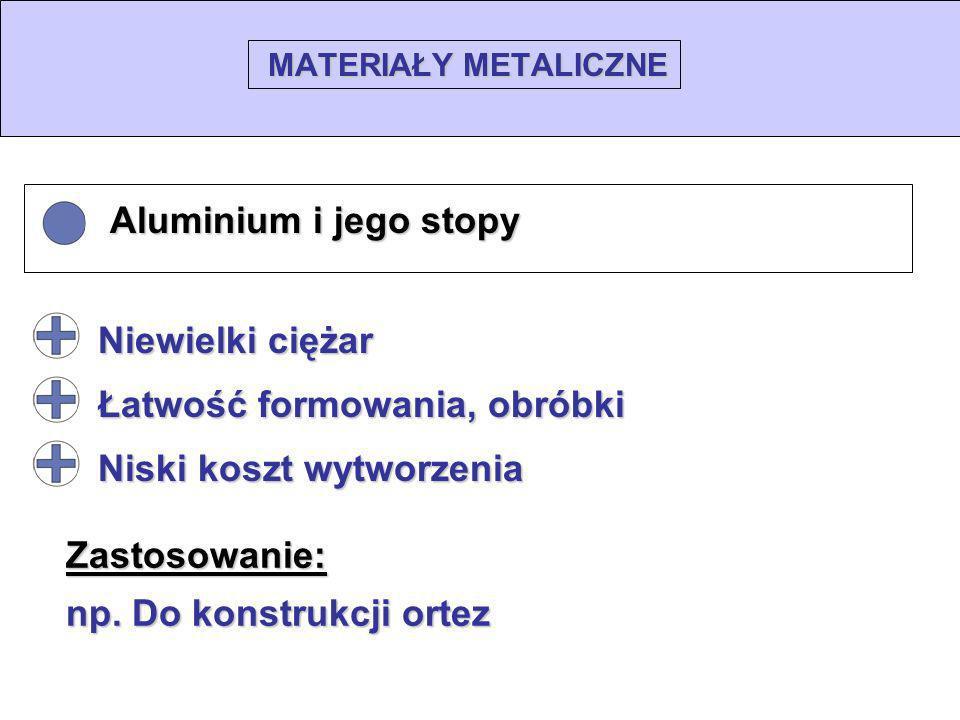 • Aluminium i jego stopy
