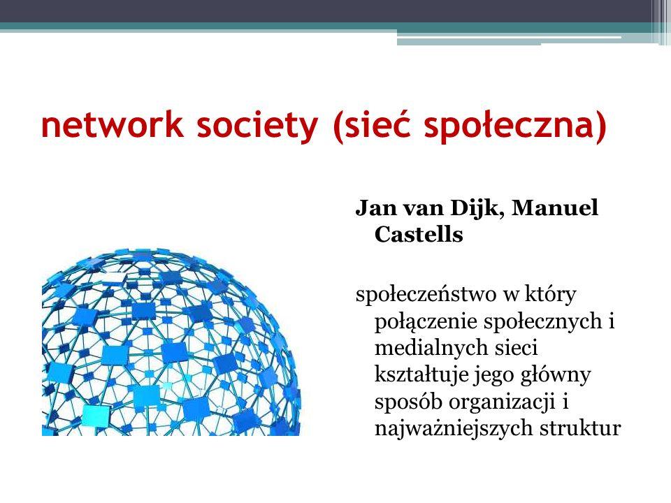 network society (sieć społeczna)